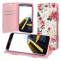 Custodia per Samsung Galaxy S7 Edge G935 Cover Case Portafoglio Wallet Etui Rosa