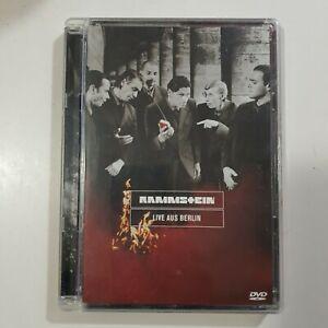 RAMMSTEIN - Live Aus BERLIN DVD original From 1999