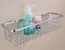 Bathroom Shower Caddy Basket Storage Shelves SUS304 Stainless Steel