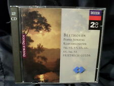 Beethoven the complete Piano Sonatas 14,15,17,21-24,32 Friedrich Gulda 2cds