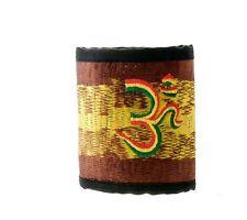 Wallet Currency Cards Rasta Om Hindu GZ35