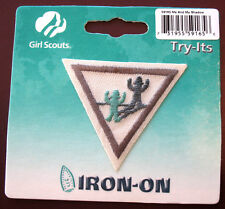 ME AND MY SHADOW Retired NEW Brownie Girl Scout Try-Its It Iron-on Multi=1 Ship