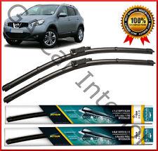 "Nissan Qashqai (2007-2014) Avant Paire Flat Aero Wiper Blades 24"" 15"" Set (C)"