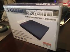 "NEW SEALED--Element 5.25"" IDE to USB-2.0 CD/DVD Slim Notebook External Enclosure"