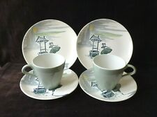 Wishing Well J&G Meakin Side Plates and Saucers