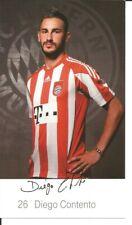 FC Bayern München Autogrammkarte Diego Contento