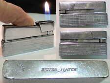 Briquet Ancien - Silver Match Convertible - Vintage Lighter Feuerzeug Accendino