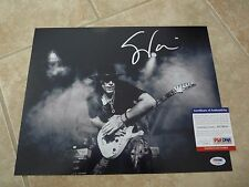 Steve Vai 11x14 Signed Autographed Photo PSA Certified #1 David Lee Roth Guitar