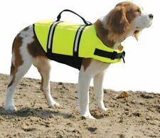 - NEW - Paws Aboard Designer Doggy Life Jacket, Neon Yellow, Small