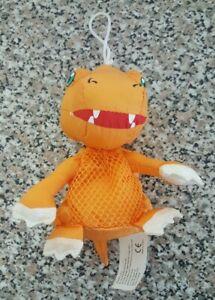 "Digimon Agumon 8"" Mesh Plush. 2000 Vintage."
