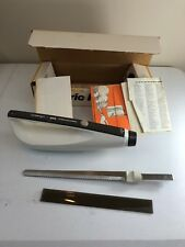 Vintage Hamilton Beach Scovill Electric Knife Model 300 Charcoal Grey No Cord