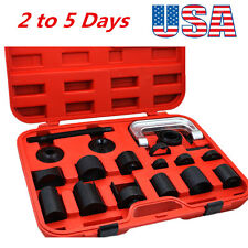 Top Sale 21PCS Press Car Ball Joint Repair Tool Service Kit Remover Installer US