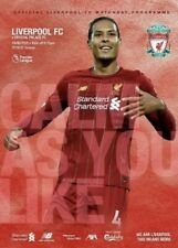 Liverpool v Crystal Palace Programme - 24 June 2020 - Anfield - SOLD OUT ONLINE!