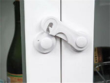 QUALITY 2 x Child Kids Toddler Safety Lock for Cupboard Drawer Latch Cabinet 3M