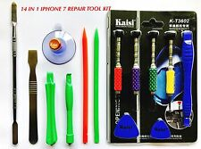 Kaisi 14 in 1 Screwdriver Opening Tool Kit for iPhone 7 Repair Tools Set USA