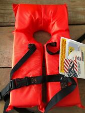 Infant Child Kids Life Preserver Water Safety Jacket Stearns Orange 30-50 lbs