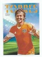 2015 Topps MLS Soccer Erick Torres Presence Of The Pitch #PTP-ET HOUSTON DYNAMO