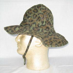 Zaire Leopard Spot Camo Chapeau de Brousse Kamanyola Division Camouflage