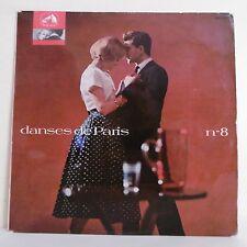 """33T DANSES DE PARIS N°8 Vinyle LP 12"""" CHA CHA BOYS Georges JOUVIN Jacques CAHAN"""