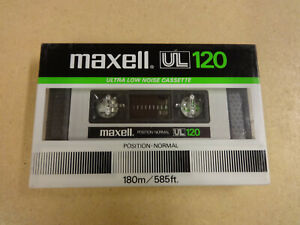 NEW & SEALED AUDIO CASSETTE MAXELL UL 120