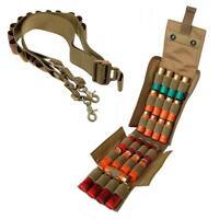 12G 20G Ammo Holder Shotgun Sling Molle 25 Round Reload Magazine Pouch