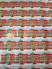 6 METRES LUXURY STYLED GIFT WRAP CHRISTMAS WRAPPING PAPER GLITTER TRADITIONAL