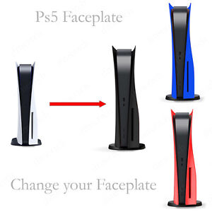 PS5 faceplate Black Disc Edition shell case cover side replacement face plate