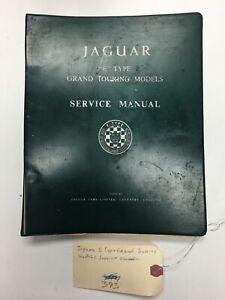 Jaguar E Type Grand Touring Models Service Manual Coventry England