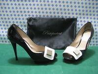 Femme Chaussures Clé Principale Talon 10 N°40 Couleur Noir/Blanc - Et : Francs