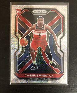 2020-21 Prizm Basketball Cassius Winston Rookie RC Mojo 14/25 Washington Wizards