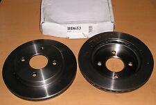 Ford Cougar, MONDEO, SCORPIO ventilados Discos De Freno Trasero 253 mm 4 Stud-BD653