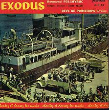 "45T 7"": BO du film: Exodus. Raymond Falgayrac. panorama. A12"