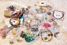100+ Piece 6 LB Wearable Junk Jewelry Lot