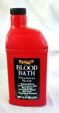 16oz Bottle of Blood - Realistic Theatrical Fake Stage Blood, Halloween Makeup