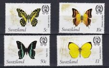 Swaziland 1982 Farfalle 389-92 MHN