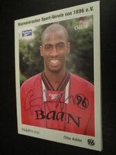 66575 Otto Addo 90er Jahre Hannover 96 original signierte Autogrammkarte