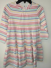 New With Tags ~ Hanna Andersson Multi Stripe Twirly Dress ~ Girl's 150, 11-13 yr
