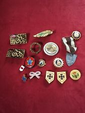 New listing Vintage, Antique, Religious, Collectible pins / Assorted