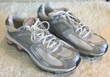 Nike Shox Size 8.5 Women's White Canvas Pink Athletic Fitness