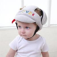 Baby Infant Toddler Adjustable Safety Helmet Head Guard Protective Hat Cap SS