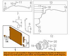 TOYOTA OEM 2018 Camry A/C AC Condenser, Compressor Line-Condenser 884A006020