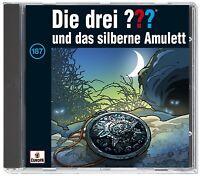 DIE DREI ??? - 187: ...UND DAS SILBERNE AMULETT   CD NEW