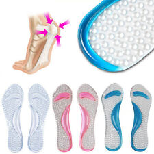 1 Pair Soft Orthotic Shoes Insoles Inserts High Arch Support Pads For Women Men