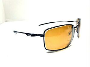 Oakley W Square Wires OO4075-01 Sunglasses 60/17 FRAMES ONLY  Black Metal P5