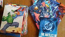 DC VS Marvel Verses SkyBox Fleer 1995 Boris Vallejo BASIC VOTING SET Cards