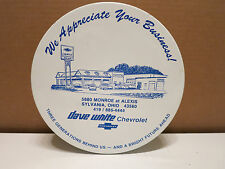 """Promo Cookie Tin """"Chevrolet"""" Car Dealer Advertising Man Cave Piece - COOL SEE!"""