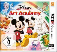 Nintendo 3ds Game Disney Art Academy 2ds Compatible