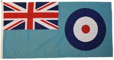 More details for raf fully sewn embroidered made in the uk mod grade woven flag cloth rope toggle