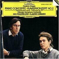 IVO POGORELICH/C.ABBADO/+ - CHOPIN-KLAVIERKONZERT 2/POLONAISE OP.44  (CD)  NEU