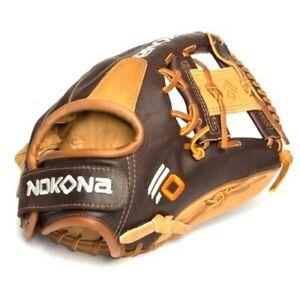 S-V1I-RightHandThrow Nokona Alpha Select 11.25 Inch SV1 Youth Baseball Glove Rig